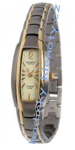 Dámské titanové Hodinky Olympia 11013  9dc7892d49