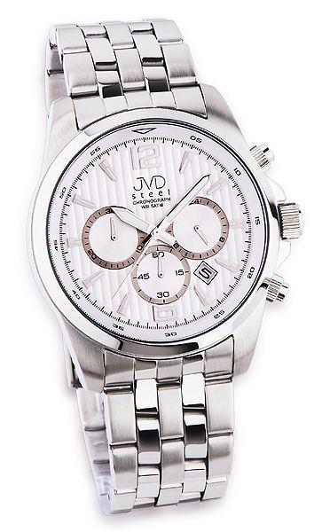 8c83257daee Náramkové hodinky JVD steel JA601.1