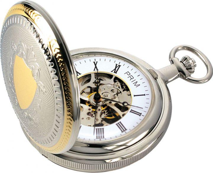 efd7a1871b4 Kapesní mechanické hodinky PRIM W04P-10181B.M00I0096L70