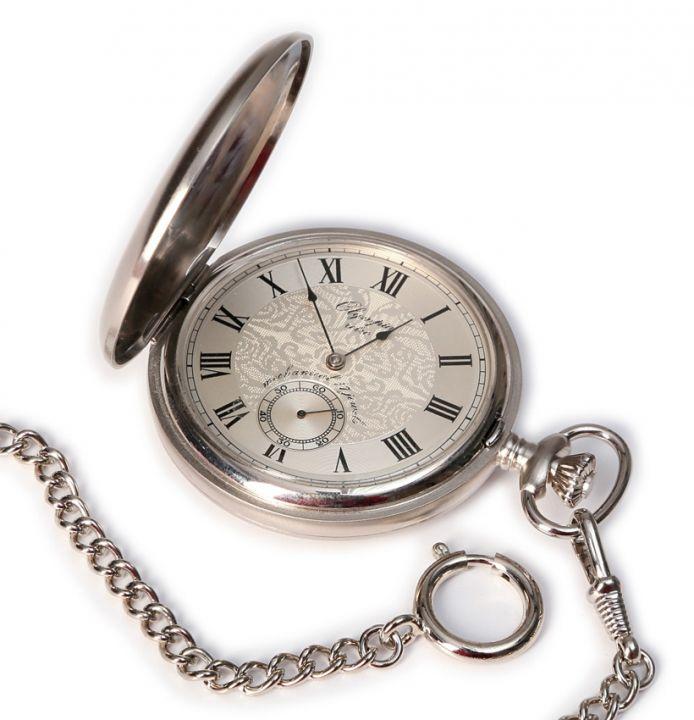 a0aee8948a6 Mechanické kapesní hodinky Olympia Retro 35030