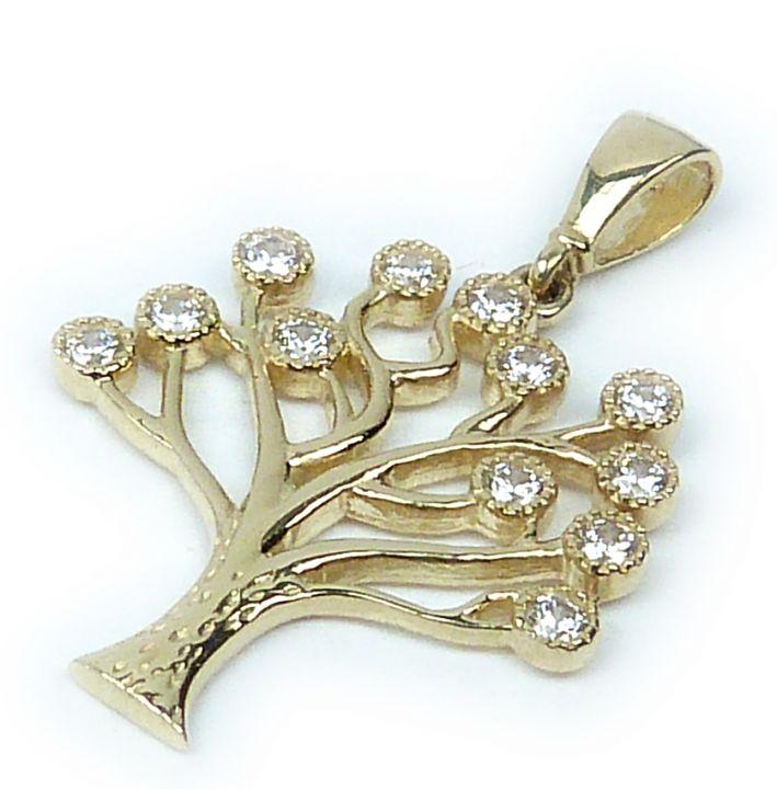Zlatý přívěsek strom života 1622  5af6445e5a8