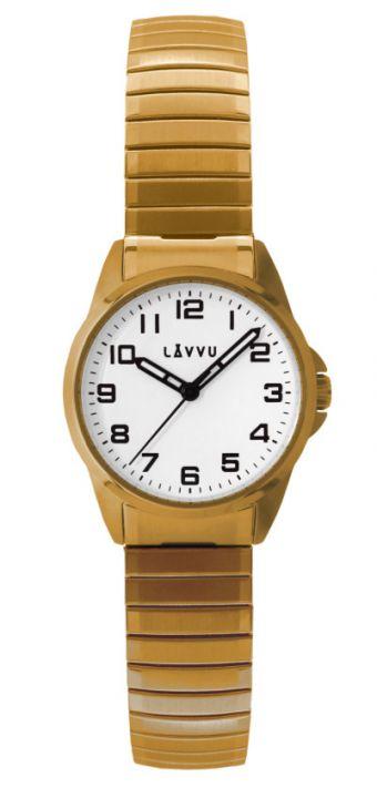 Dámské ocelové pružné hodinky LAVVU LWL5012  802994e1818
