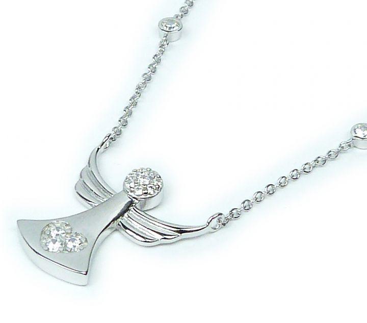 d1692de5b Stříbrný náhrdelník anděl 1419 | Hodinky-klenoty.cz